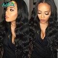 Бразильский Объемная Волна 1 Пучки 7А Естественный Цвет # 1B Бразильский Девственные Волосы Дешево Высокое Качество 100% Человеческие Волосы Объемной переплетения Продукта