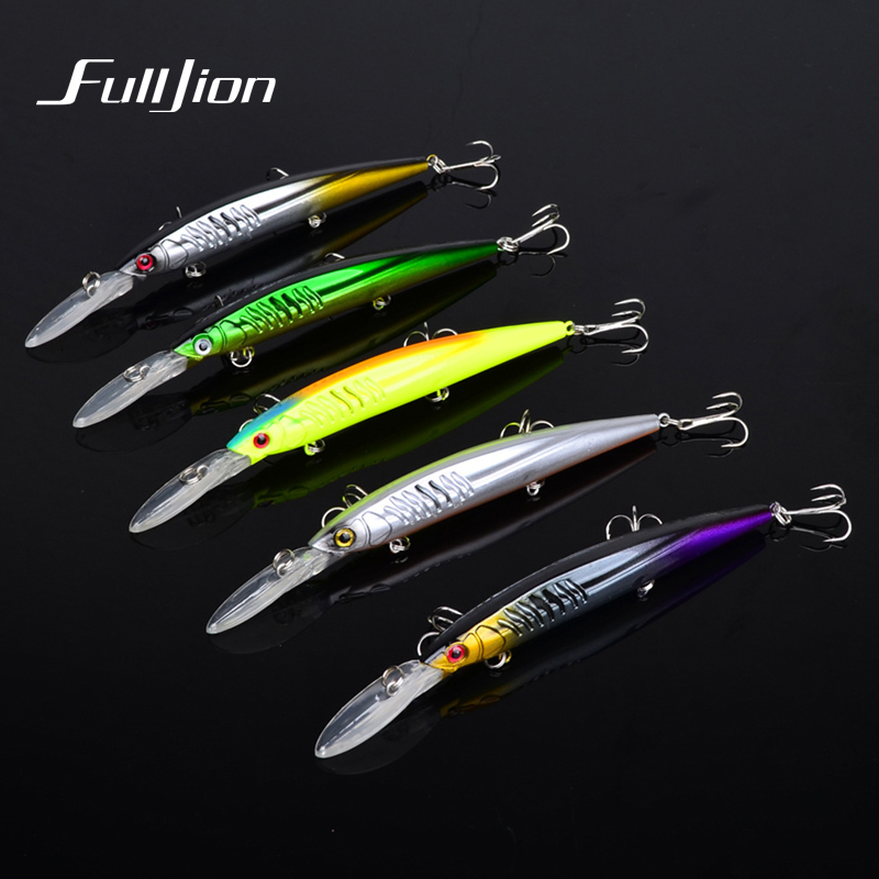 1pcs Fishing Lures Hard Minnow Wobblers Fishing Tackle With High Carbon Steel Hooks Artificial Pesca Isca Baits 15.2cm 12.5g 2018 new arrival 8 5cm 9 2g hard minnow baits lures 3d eyes fishing wobblers 6 hooks crankbaits crap tackle pesca