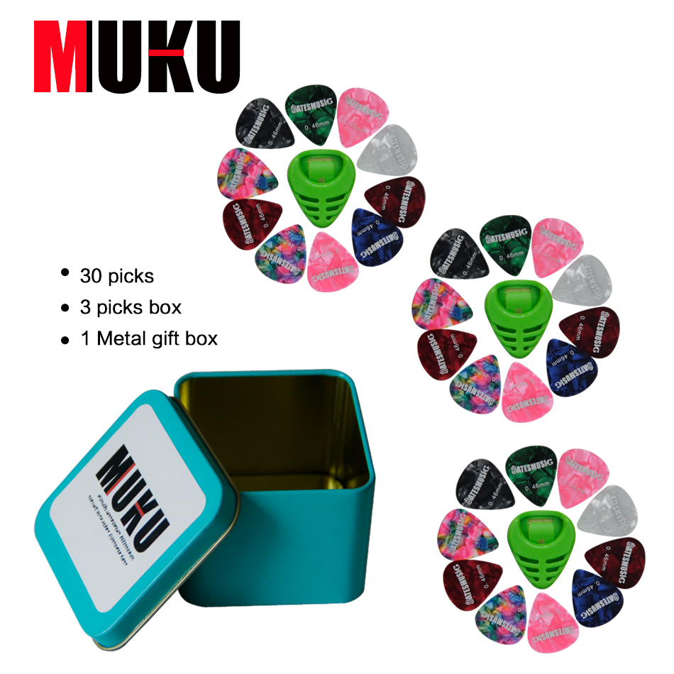 Special Package Mail  Genuine Boxed Picks 30 Pieces  Alice Guitar Picks Boxed 30 Tablets  Guitar Accessories