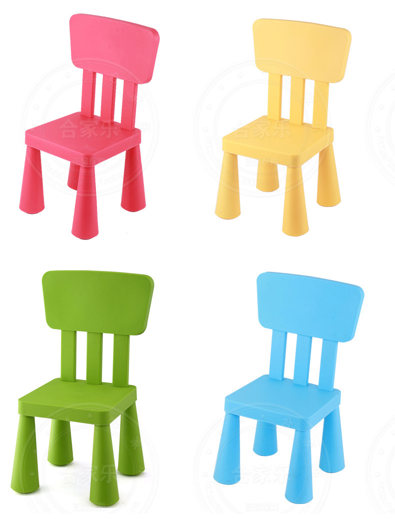 Plastic Children Chairs Kids Furniture Portable Whole Can Customize 2016 New Hot 38 36 67cm Quality Ce In From On