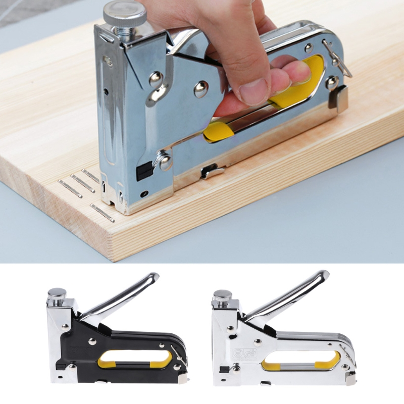 Heavy Duty Hand Multitool Nail Staple Gun Furniture Stapler Nailers Rivet Tool Dls HOmeful стенка в гостиную первый мебельный багира