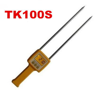 TK100S Digital Portable Moisture Analyzer Tester Meter Food for Corn Wheat Rice and Bean Wheat Flour Grain 10% off