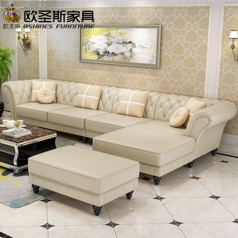 factory wholesale champagne l shaped corner sectional royal ...