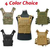 1000D Molle Tactical Vest Simplified Version Military Protective Plate Carrier Plate Carrier Vest Ammo Magazine Body
