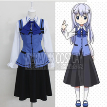 Is the Order a Rabbit? Cosplay Gochumon wa Usagi Desu ka? GochiUsa Chino Kafuu Cosplay Costume