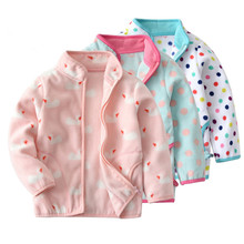 Baby girls coats children casual fleece jackets clothing fas