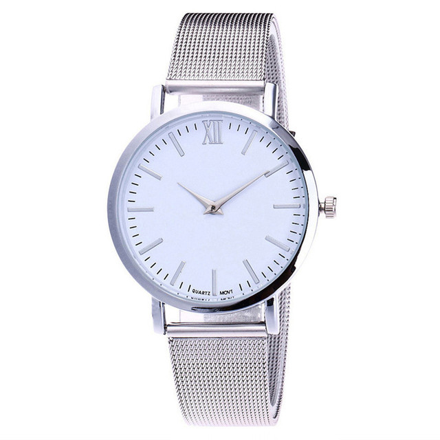 2018 New Fashion Quartz Watches Men Lover's Quartz Analog Wrist Delicate Alloy W