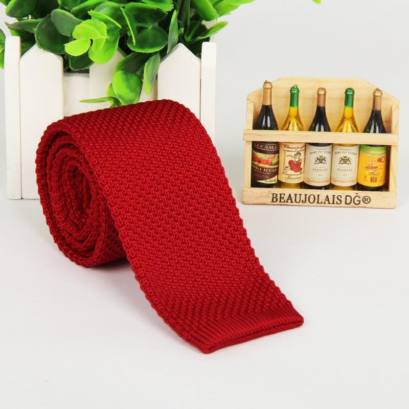 HTB1fLi3LpXXXXaHXpXXq6xXFXXXn - Vintage Style Plain Color Knitted Ties