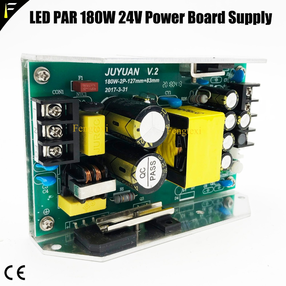 JY-180-24 Stage LED Par Can 54*3w Power Board Supply 180w 24v Input 100-240v Outpu+24v 7.5A 54x3w Par Flood Light PowerJY-180-24 Stage LED Par Can 54*3w Power Board Supply 180w 24v Input 100-240v Outpu+24v 7.5A 54x3w Par Flood Light Power