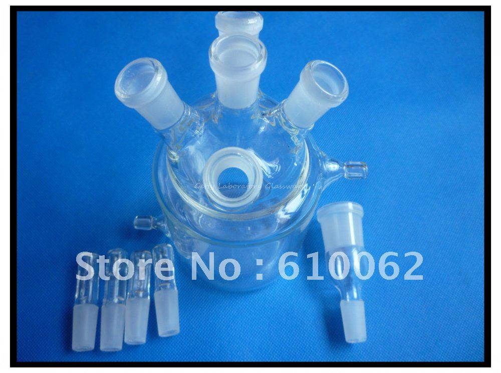 ФОТО Double-deck thermostatic electrobath, constant- temperature electrolyzer, electrolytic bath 100ml