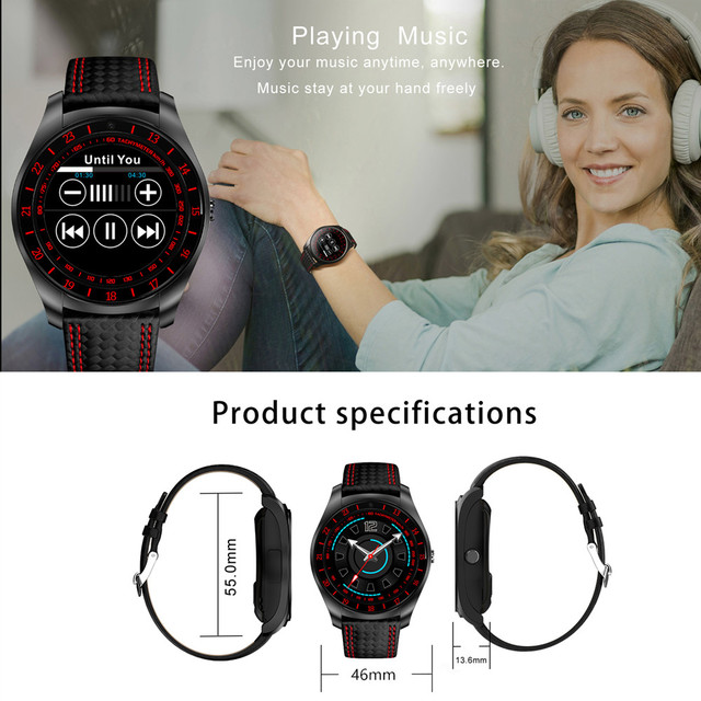 Beseneur Smart Watch V10 Support Sim Card Camera Bluetooth 5