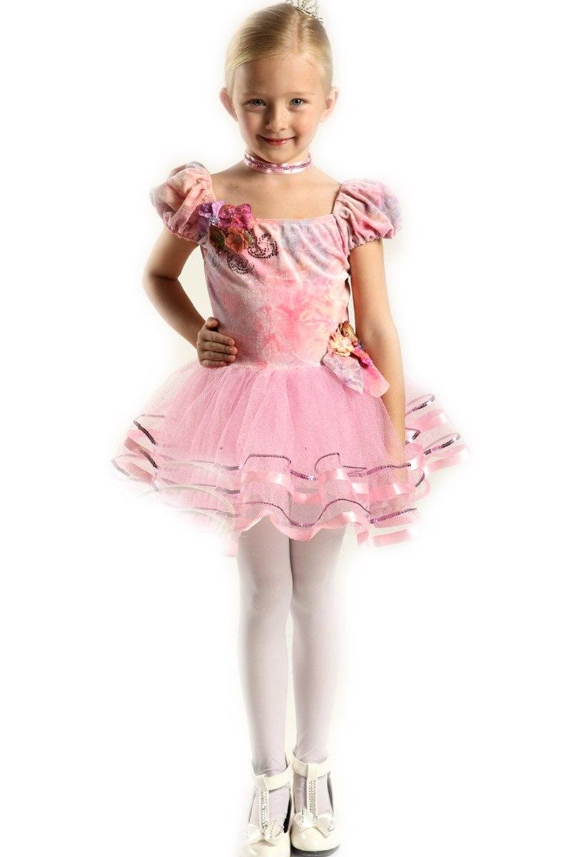 ΞNiños vestidos para niñas vestido de niña Ropa de baile de danza ...
