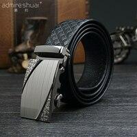 Hot Sale Fashion Men Belts Luxury Designer Top Quality Automatic Flowers Buckle Trouser Belt Bussiness Casual