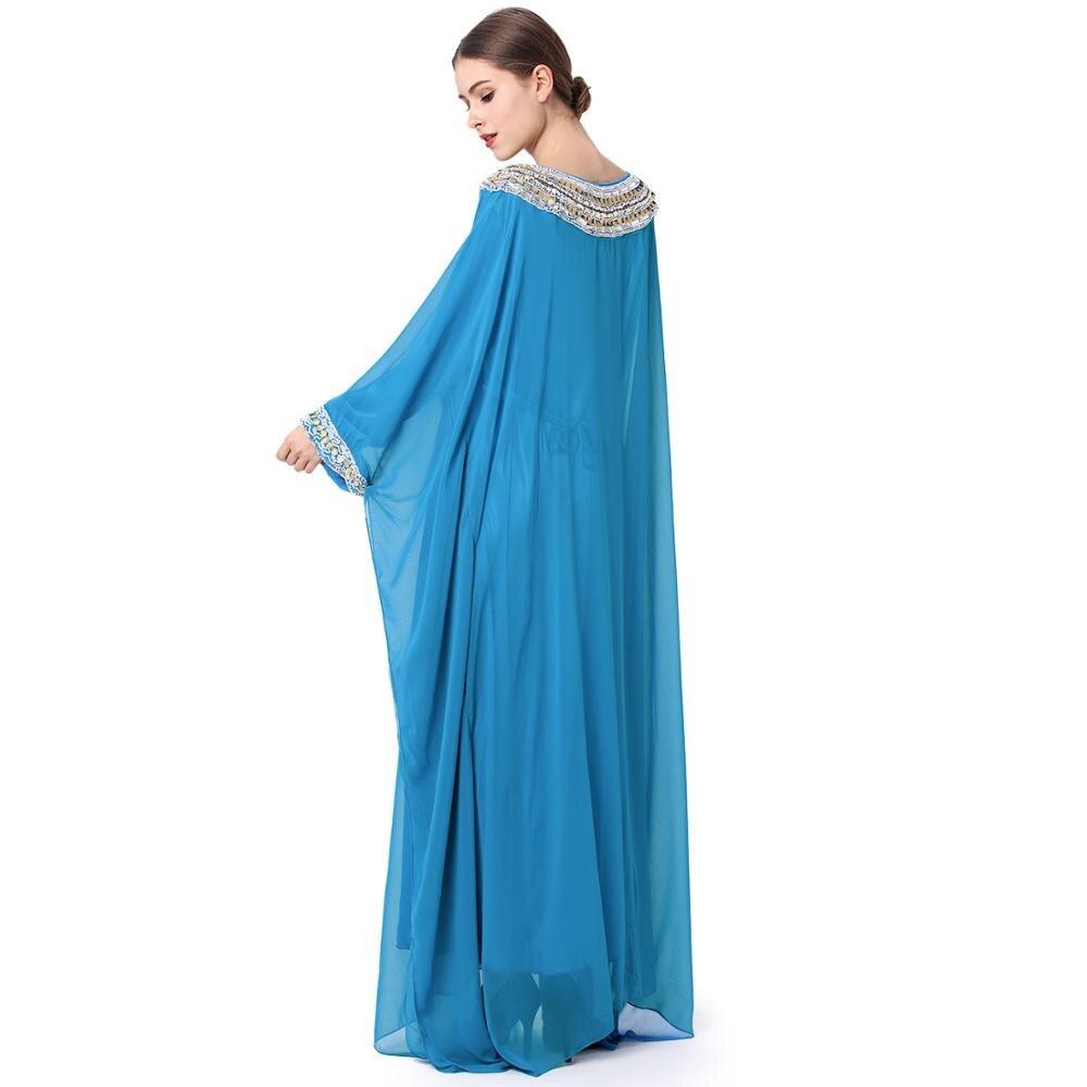 244f47c31f9cd8 Mode abaya moslim lange jurk luxe chiffon borduren vrouwen kleding boerka  plus size dubai djellaba party trouwjurk in Mode abaya moslim lange jurk  luxe ...