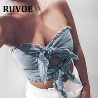 New 2018 Summer Beach Women Tube Top Strapless Sexy Tops Ruched BodyconTop Off Shoulder Crop Top Women Short Intimates YME 16