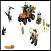Batman Bane Toxic Truck Model Building Block Toys Compatible Legoe LEPIN 07081 396Pcs Construction Figure Gift