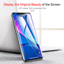 CAFELE 3D Screen Protector For iPhone X XR 10 XS Max Full Coverage Tempered Glass Protective Glass For iPhone Xr X 10 XS XSMax protective glass red line for iphone x full screen 3d black