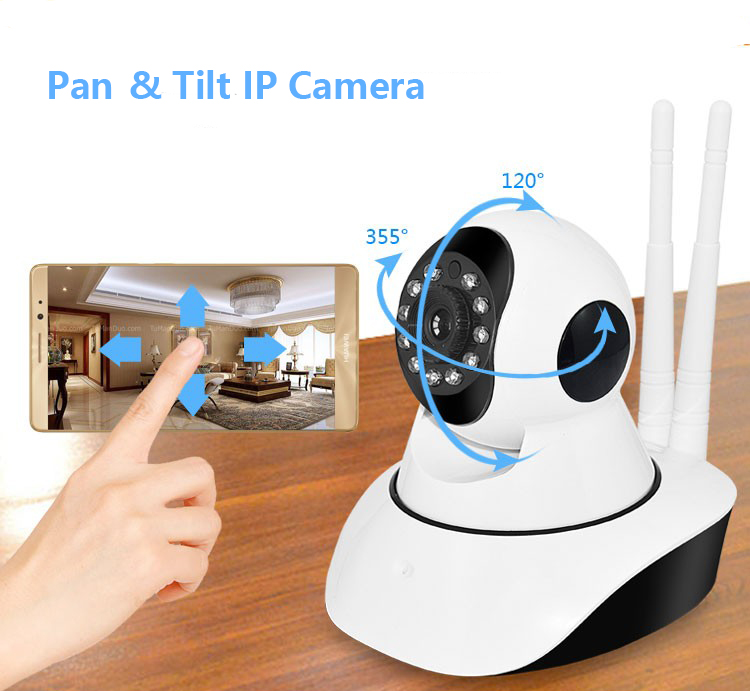960P Pan & Tilt Wi-Fi Home Smart Security Wireless Smart  IP Camera with TF Card slot Recorder V380 Baby Monitor