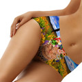 Lingerie Sexy Hot Erotic Women Floral 3D Cat Fashion Tattoo Briefs Seamless One-pieces Underwear Knickers Thongs Panty Lingerie