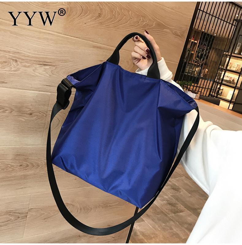 2c1dd7ff79 Della Da Gnocco Del A Spalla Blu Capacità Bag Borse Lungo Black Grande  Oxford Tote handle Di ...
