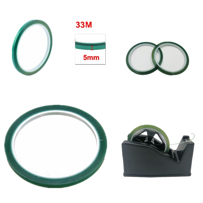 10 PCS 5MMx33M Heat Resistant Tape For Sublimation Heat Pressing T-shirt Press Mug Press