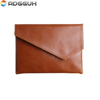 RDGGUH New Casual PU Leather Men's Envelope Clutch Business Men Clutch Bags Large Capacity Phone Document Hand Bags for Male