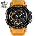 SMAEL мужские Лидирующий бренд электронные часы светодиодные цифровые наручные часы для мужчин спортивные часы мужские 1739 военные часы Relogio ...