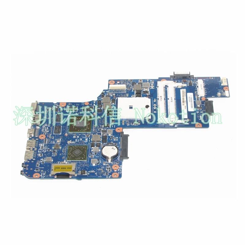 NOKOTION H000052430 Laptop Motherboard for Toshiba Satellite C850D L850D C855D L855D fs1 mainboard works brand new laptop keyboard for toshiba satellite l850 l850d l855 l855d l870 l950 us version white colour layout