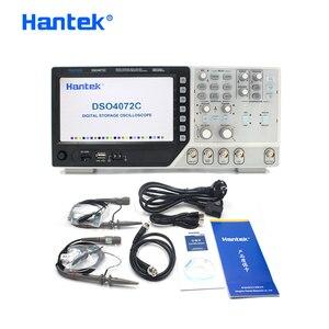 Image 5 - Hantek официальный осциллограф DSO4072C 2 канальный 70 мгц цифровой осциллограф с 1 канальным произвольно/функциональным генератором сигналов