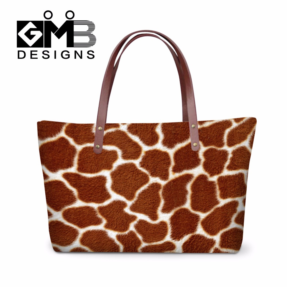 Leopard Clear Tote Handbags For S Personalized Shoulder Bags Women Lady Animal Cow Print Female Messenger Bag In From