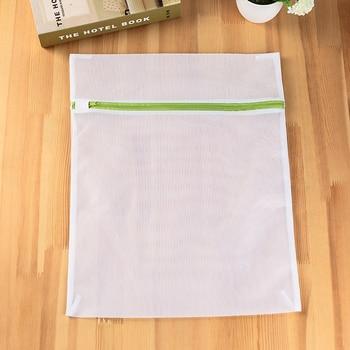 6 Maten/set Ritssluiting Opvouwbare Nylon Waszak Beha Sokken Ondergoed Kleding Wasmachine Bescherming Netto Mesh Zakken