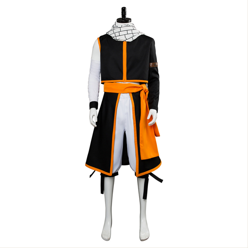 Fairy Tail Cosplay Costume Final Season Etherious Natsu Dragneel Cosplay Costume Adult Men Halloween carnival Costumes