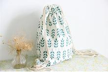 Handmade Linen Drawstring Bag wheat Women Backpack Students Travel Book Satchel Shoulder Bag School Bags For Teenagers hot sale women backpack drawstring backpack college students school bag for teenagers famous brand shoulder bags sack bag