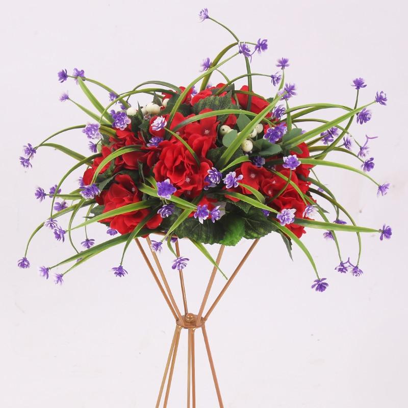Ev ve Bahçe'ten Vazolar'de 10 adet/grup Çiçek Vazolar Zemin Metal Vazo Bitki Kurutulmuş Çiçek Tutucu Saksı Yol Kurşun Ev/Düğün Koridor dekorasyon G101'da  Grup 2