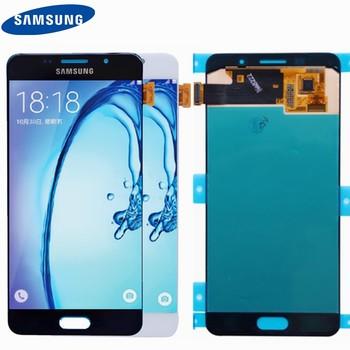 D'origine 5.2 ''SUPER AMOLED Pour SAMSUNG Galaxy A5 2016 A510 A510F A510M A510FD Écran lcd avec Écran Tactile Digitizer l'assemblée