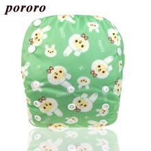 Pororo one size fit all baby swimming diapers adjustable newborn swimwear reusable waterproof pul breathable pants