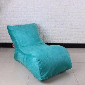 Image 4 - LEVMOON Beanbag стул для чата сумка для Фасоли Набор диванов мебель для гостиной без наполнения Beanbag кровати ленивое сиденье zac
