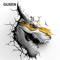 Guxen Grimlock Transformers Cool Decoration 3D Lamp Kids Action Figures Movie Robot LED Night Light Kids Boys Toys Gifts Light