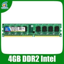 Фирменная Новинка DDR2 800 мГц PC2 6400 16 ГБ 4×4 ГБ memoria памяти для настольного ОЗУ Совместимость Intel и AMD Mobo