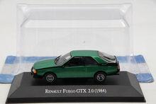IXO Altaya 1:43 Renault Fuego GTX 2.0 1984 Car Diecast Models Miniature Metal Auto Collection 1 43 ixo diecast model car brazilian classic fiat uno 1983 miniature vehicle