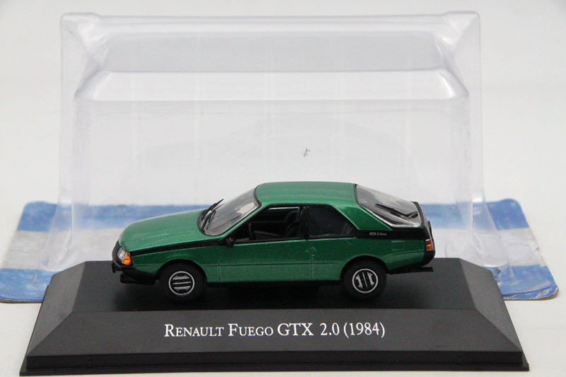 цена на IXO Altaya 1:43 Scale Renault Fuego GTX 2.0 1984 Car Diecast Models Limited Edition Metal Auto Collection