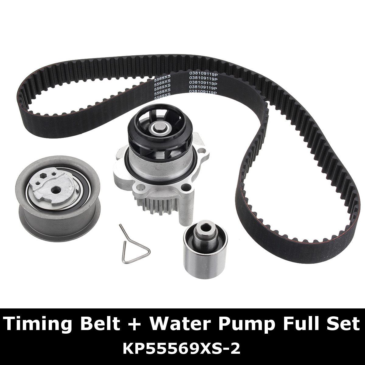 Timing Belt Kit Water Pump Set for AUDI A2 - A3 8P for VW Golf Passat SEAT 1.4 1.9 TDI for SKODA 910 029 amb atw bkf bnu awt anb cylinder head for audi a3 a4 a6 tt s3 for skoda octavia for seat toledo for vw passat golf 1 8t