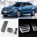 Brand New 3pcs Aluminium Non Slip Foot Rest Fuel Gas Brake Pedal Cover For VW Lavida AT 2008-2016