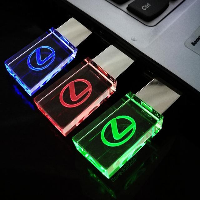 USB Flash Drive With Lexus Car Logo