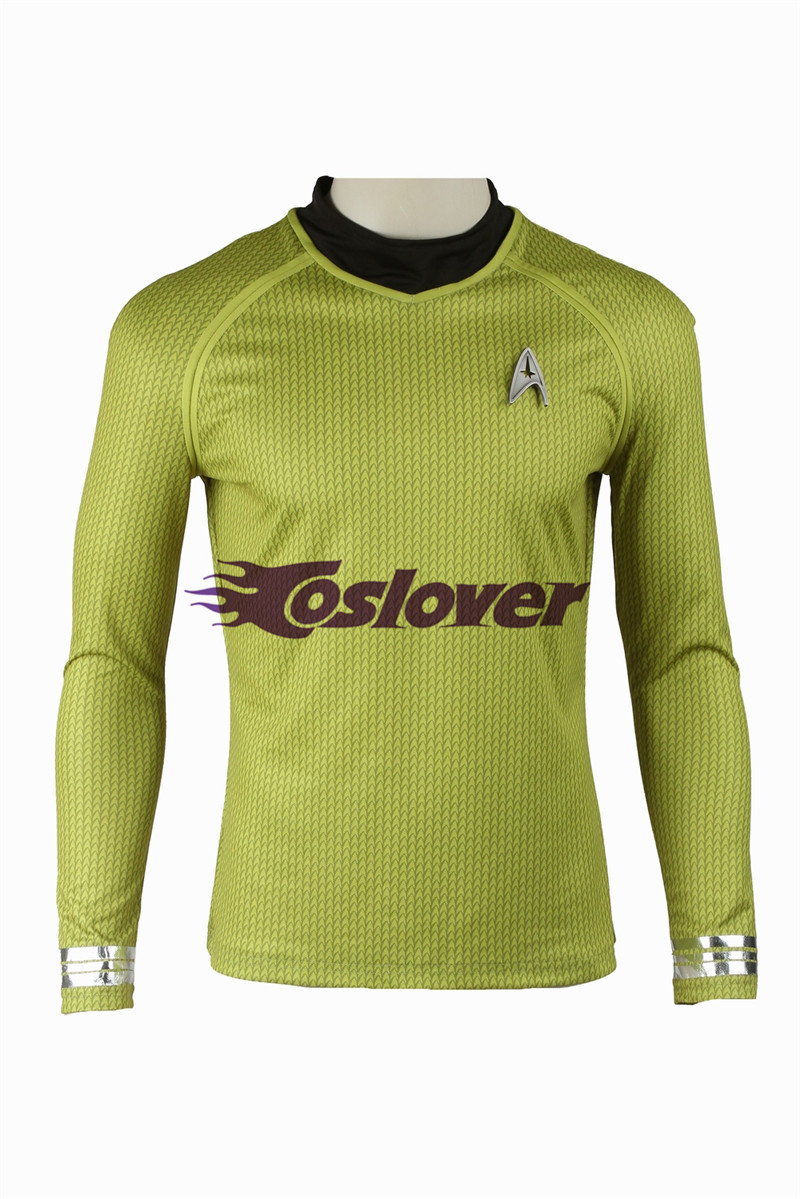 Star Trek Into Darkness Mens Long Sleeve Shirt You Are Not Safe