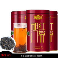 Special Grade Black Cha Tea Strong Aromatic Tea Total 500g ( 4X125g/box) As Gifts