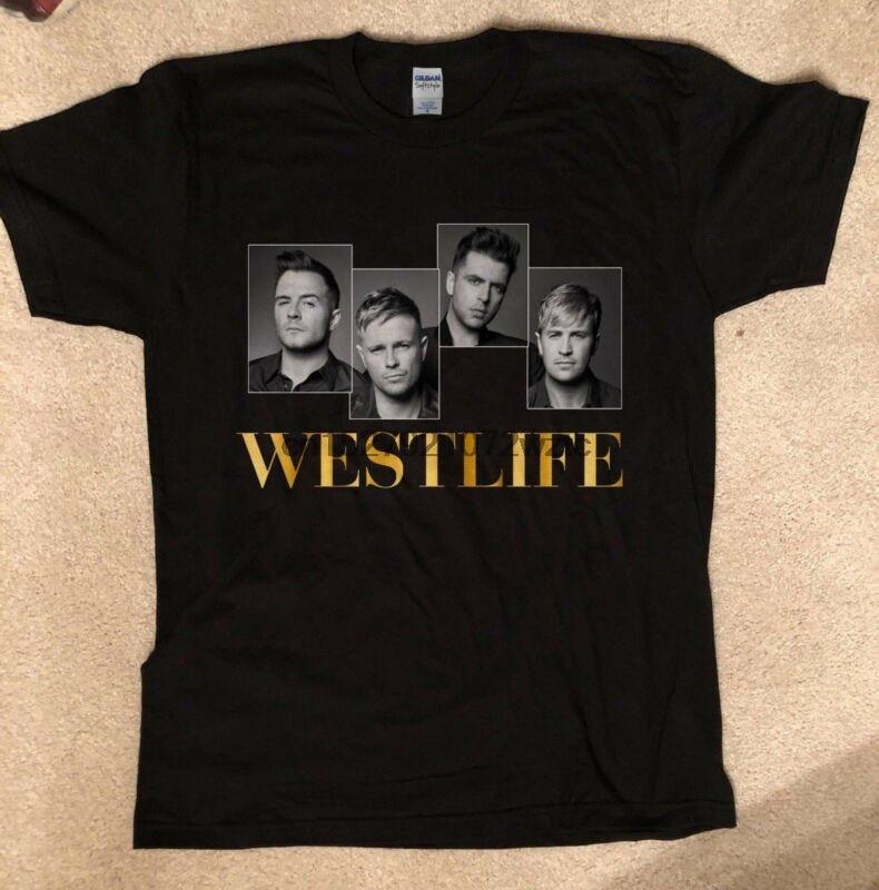 Westlife pop vocal group - The Twenty Tour 2019 t-shirt tee Boyzone