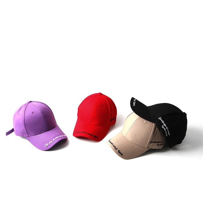 100% Cotton embroidery hat black cap Blank snapback hip hop dad cap designer  hats men women Visor hat skateboard gorra bone 76351516cbd