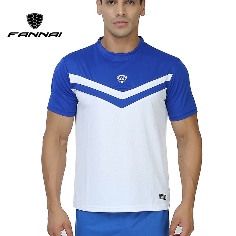 FANNAI Mens Short Sleeve Outdoor Running T Shirt Men Quick Dry Sport Jerseys Mens Slim Clothing tops tees workout Sportswear ...