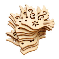 Free Shipping Wholesale High Quality New Design Bird Die Cutting Wood Angle DIY Scrapbook 38mm 36mm